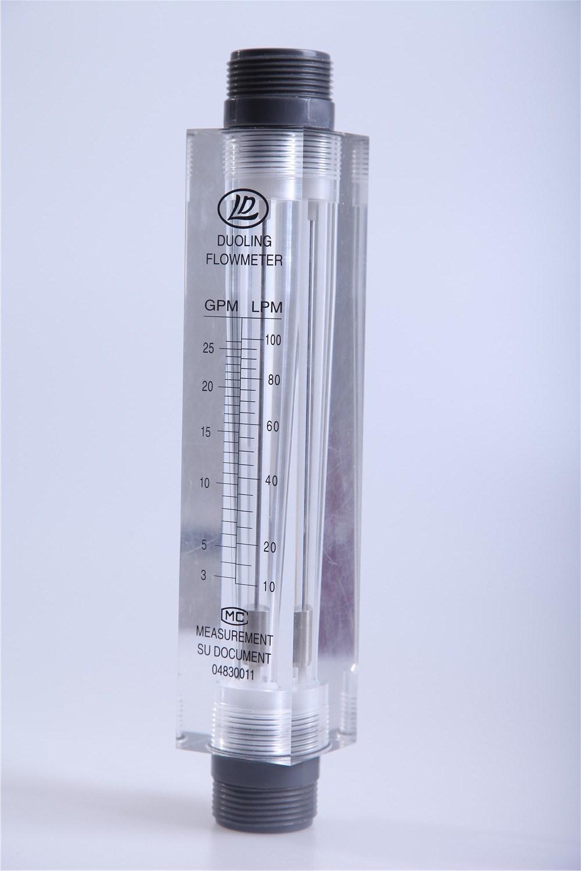 Variable Area Acrylic Flowmeter/RO Water Flow Meter (Panel Mount)