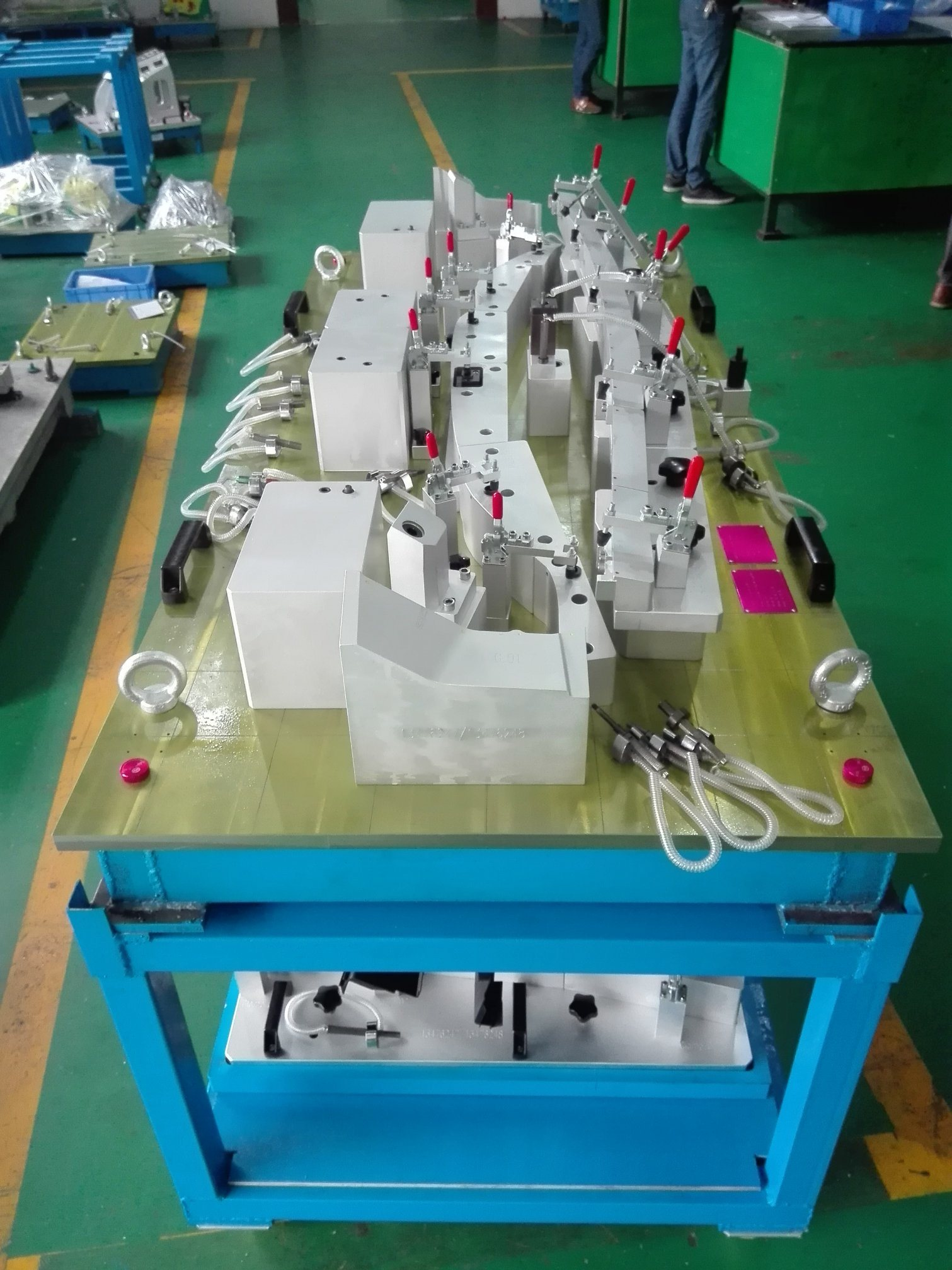 Auto Checking Fixture for Plastic Part
