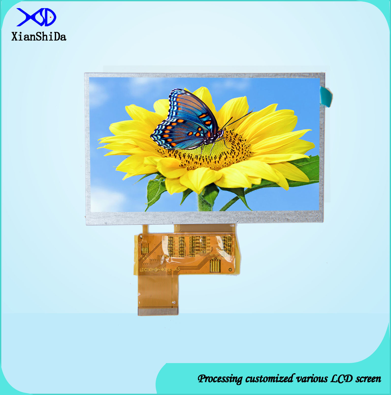 Full Viewing Angle 5.0 Inch TFT LCD Screen