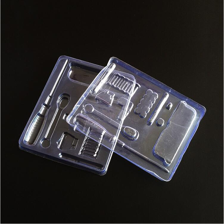 PVC Plastic Box Transparent Metal Screwdriver Plastic Packaging