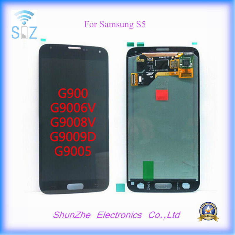 Mobile Phone Touch Screen LCD for Samsung Galaxy S5 Displayer Displays