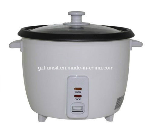 Drum Type Electric Rice Cooker with Glass Lid Kitchenware