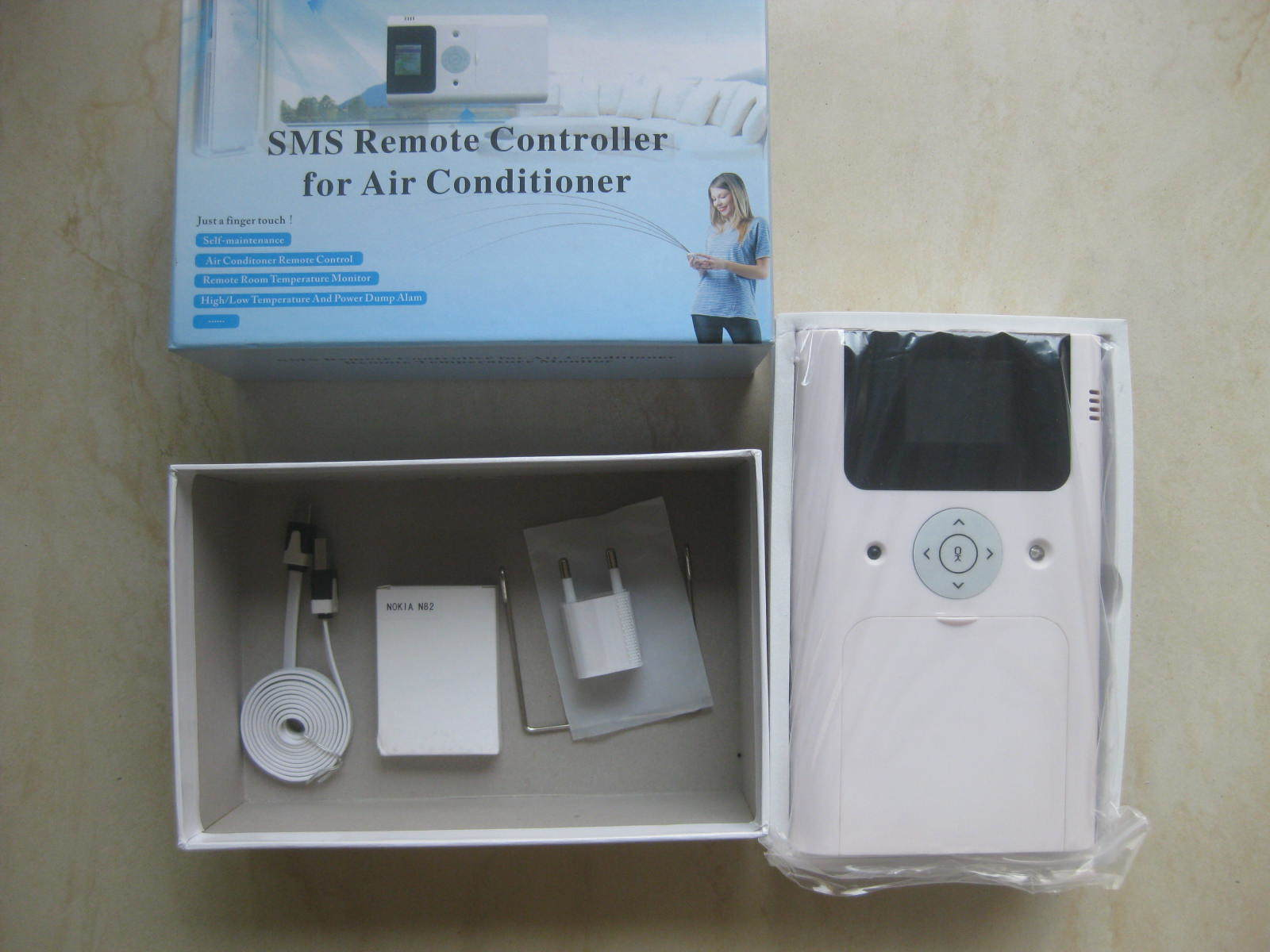 SMS Remote Controller for Air Conditioner;GSM Air-Conditioner Power Switch (SR-001)
