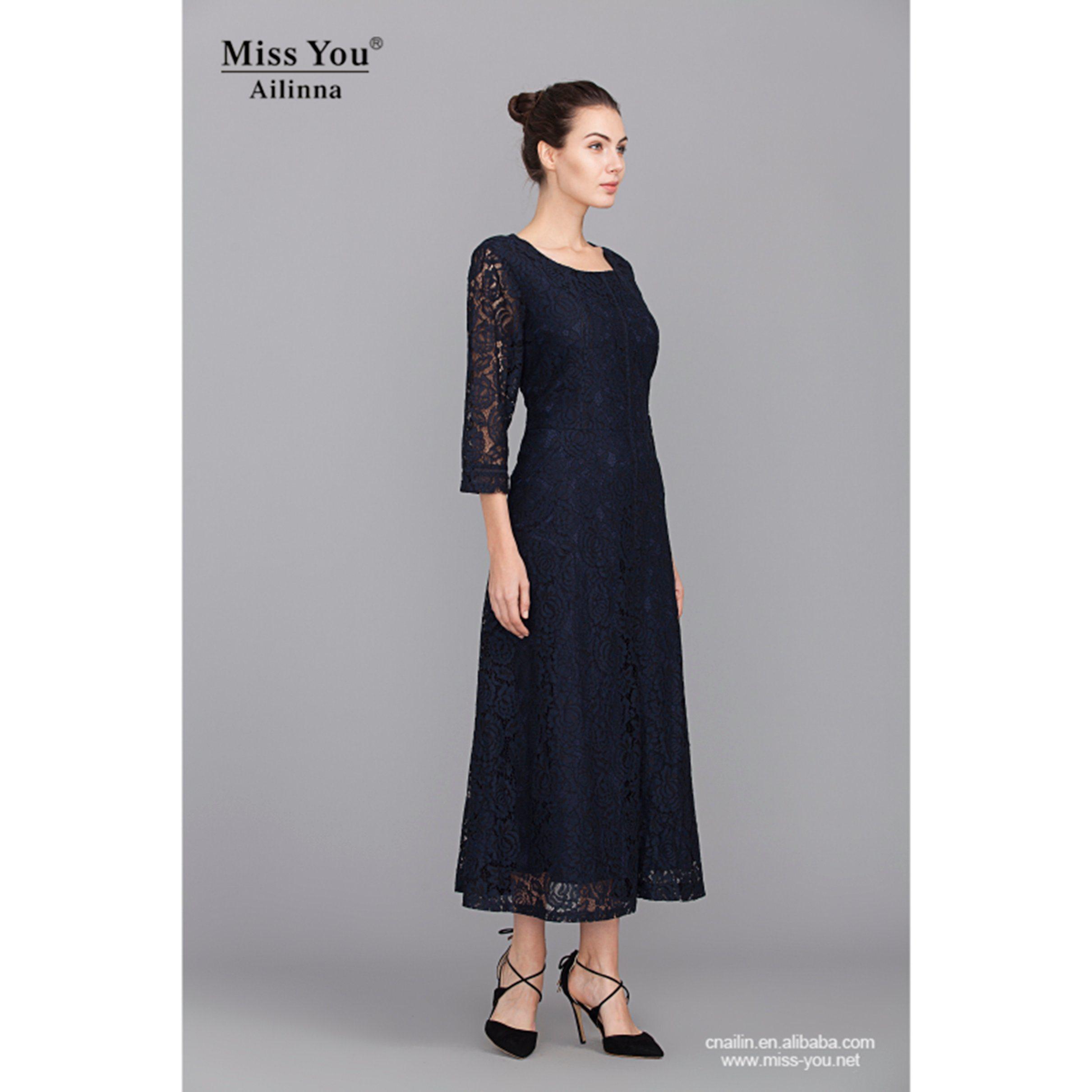 Miss You Ailinna 801945 Lace Ladies Evening Dress African Kitenge Designs