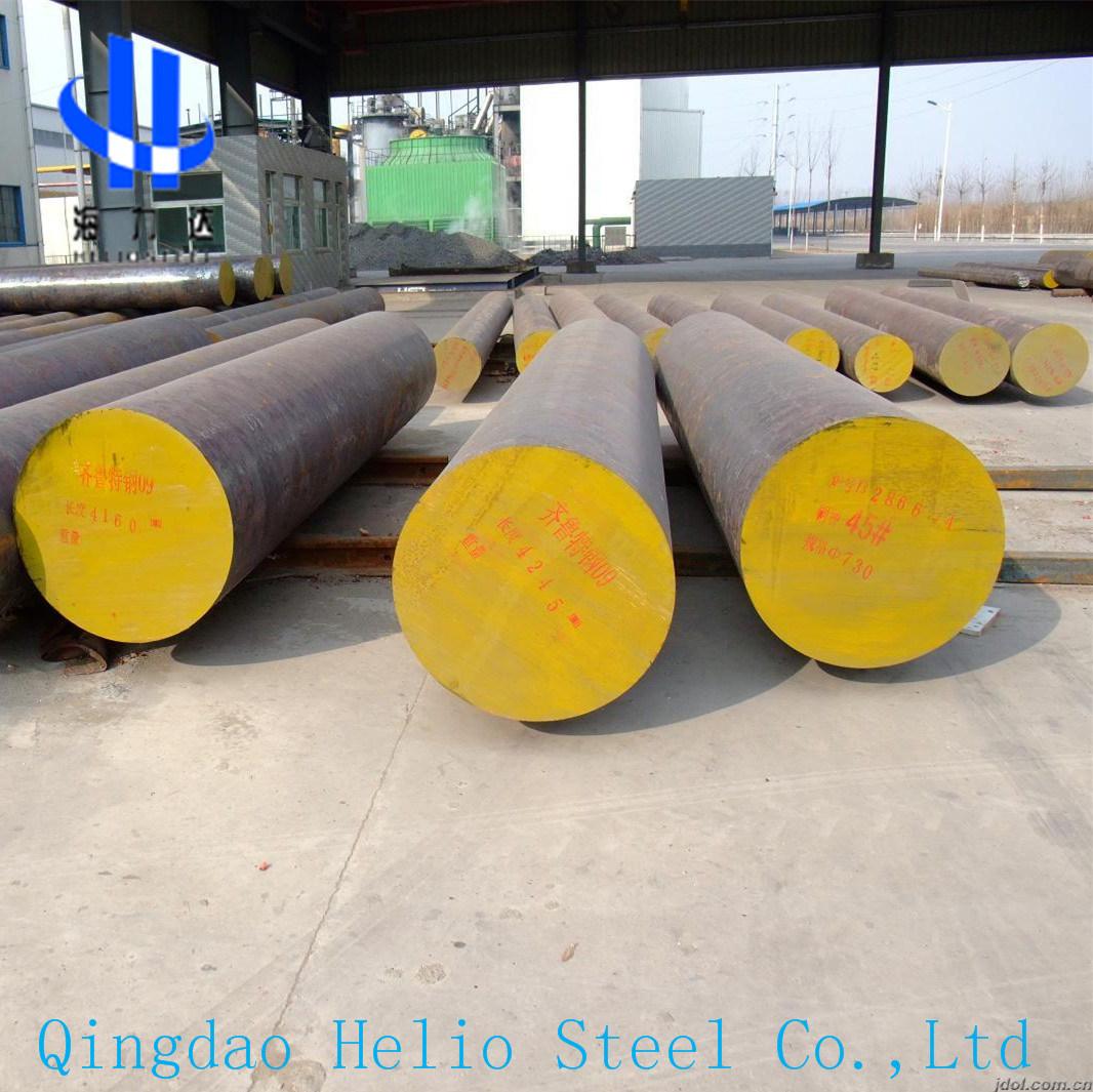 AISI1045 SAE1045 C45 AISI4140 SAE4140 42CrMo4 Scm440 Forged Steel Shaft