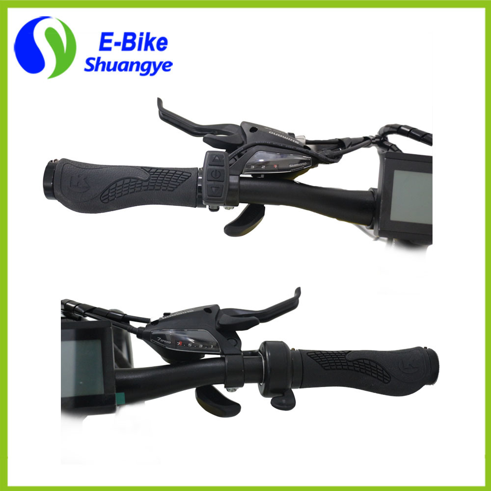 Shuangye 26′′ 36V Alloy Frame Hidden Battery City Electric Bike