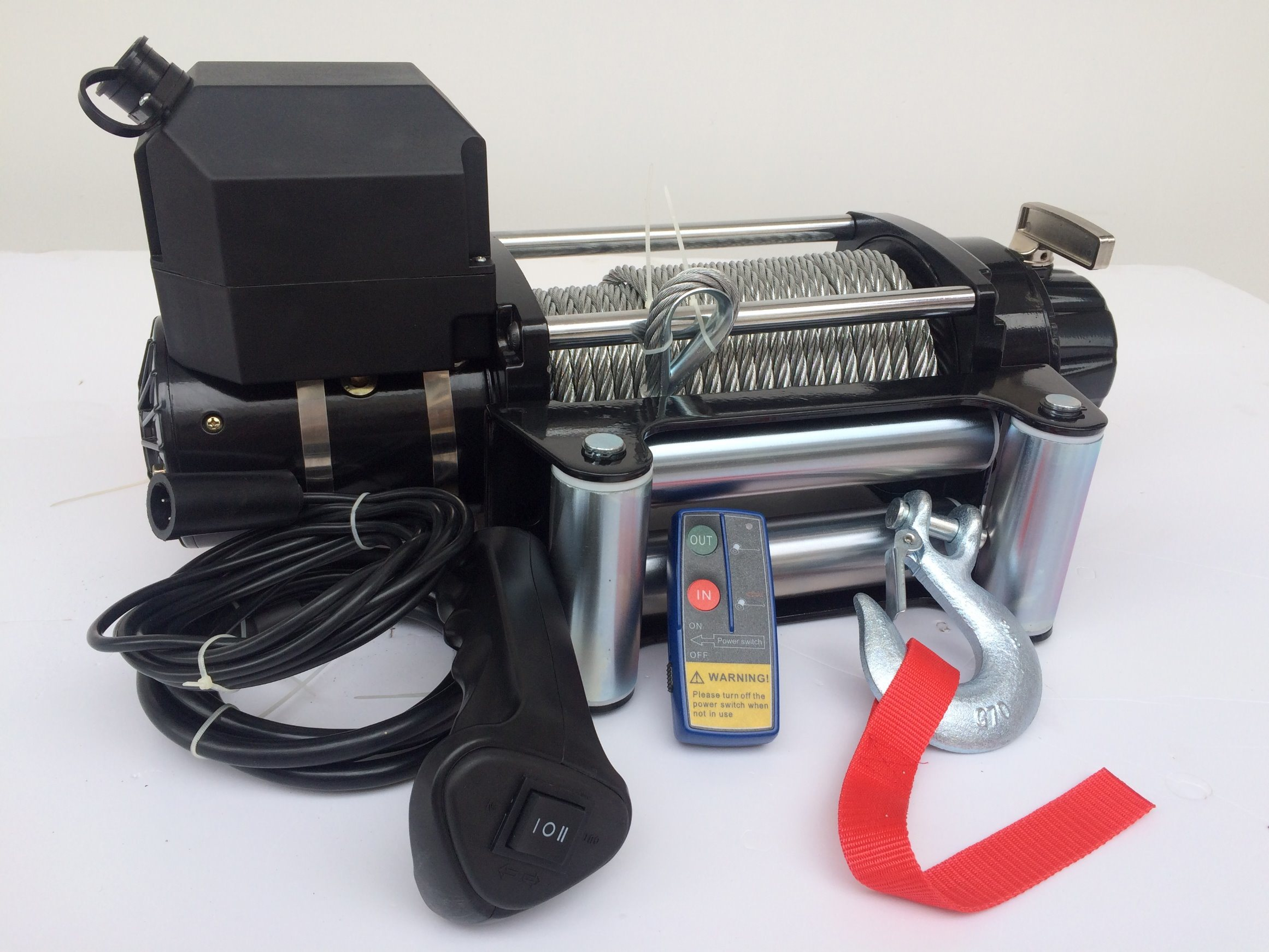 Electric Winch 9500 Lb Ideal Recovery Winch to Entry Level off-Road