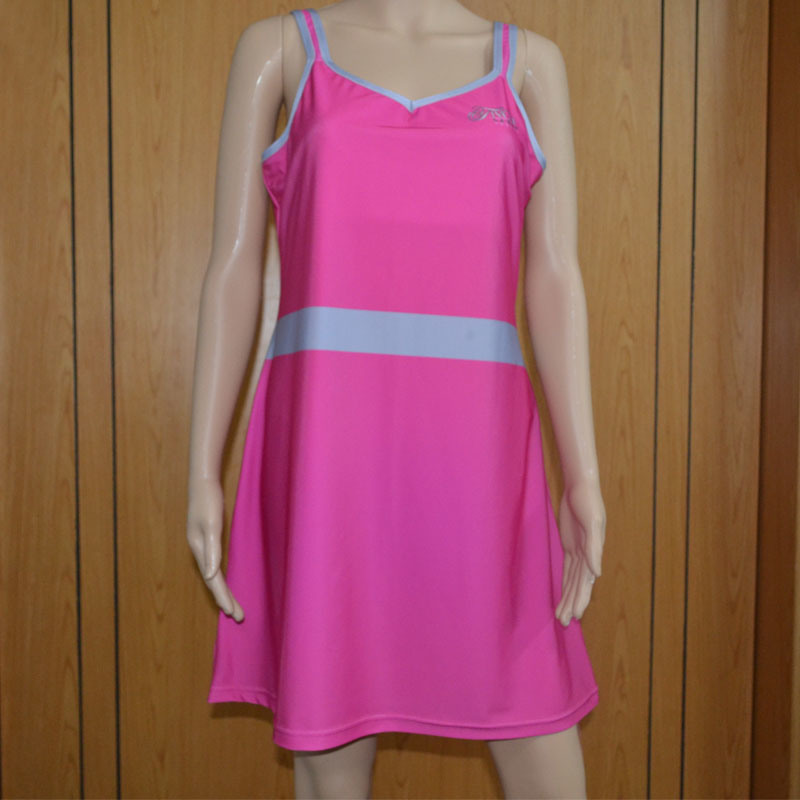 Solid Color Tennis Dress /Lady′s Tennis Shirt