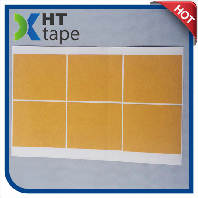 Yellow Glassine Liner Pet Double Sided Tape