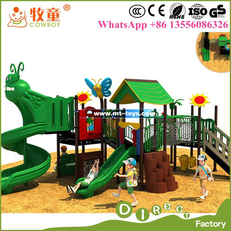 China High Quality Outdoor Children Playground Equipment / Outdoor Playground Slide for Kids