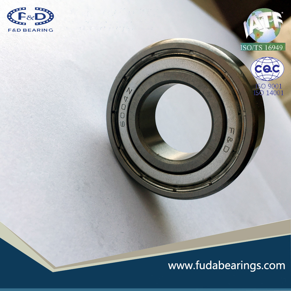 High Speed High Temperature Constant Ball Bearings 6004ZZ