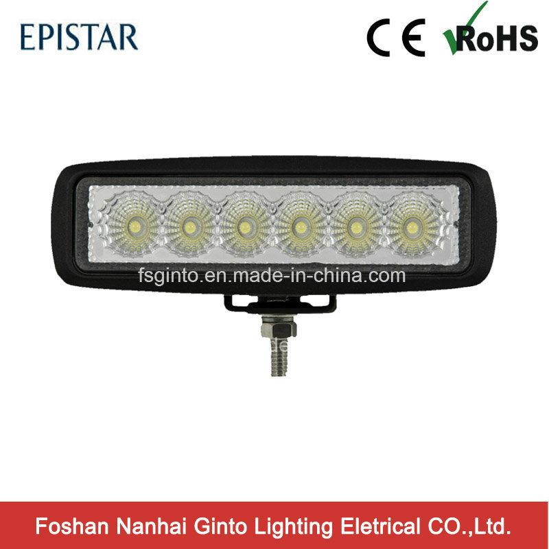 Bright Hot Sale 18W Offroad Epistar LED Work Light (GT1012-18W)
