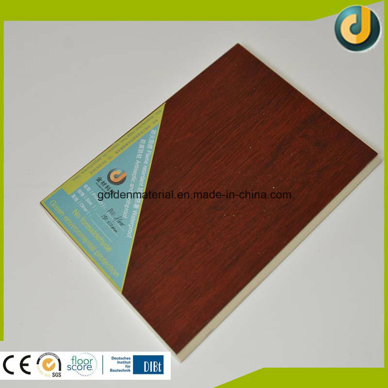 Factory Manufactury Plastic Wooden PVC Vinyl Flooring Interior on Sale