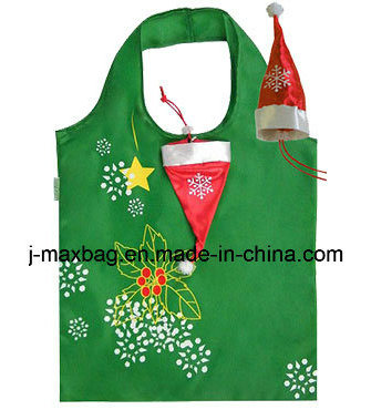 Christmas Gift Bag, Christmas Hat Style, Foldable, Handy, Lightweight, Gifts, Accessories & Decoration, Promotion