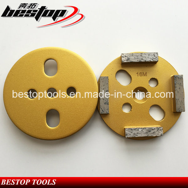 4 Inch Soft Bond Concrete Grinding Disc with Segments