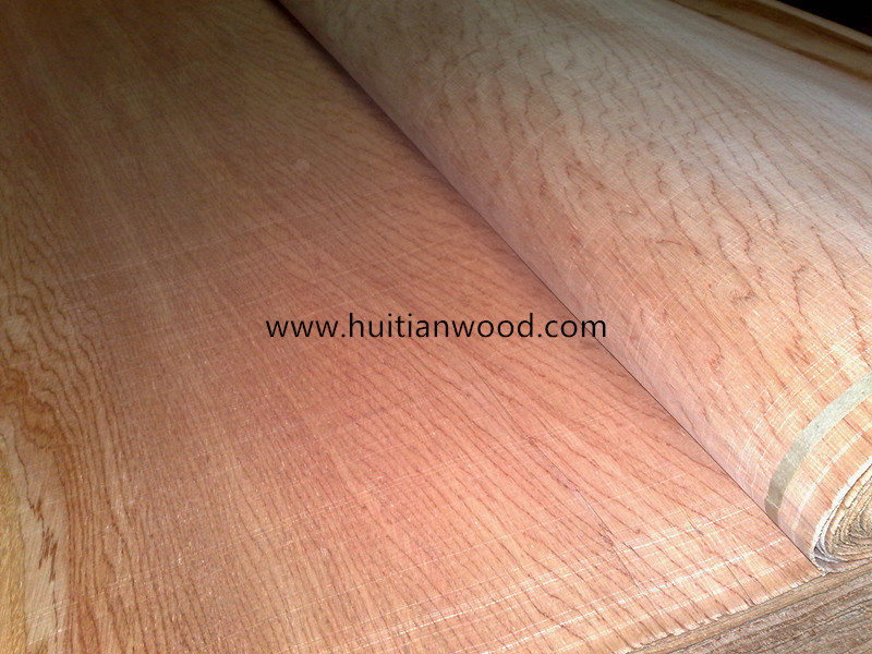 0.5mm A Grade Red Natural Bintangor Veneer for Furniture Plywood