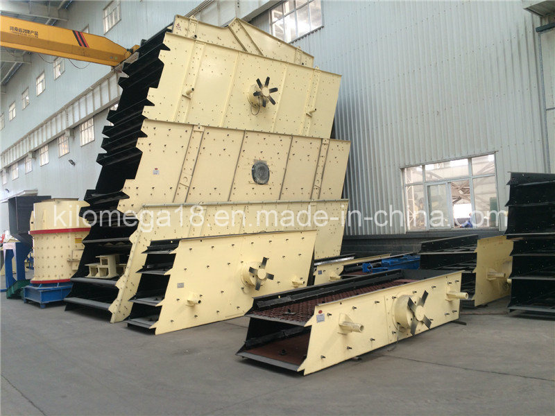 Vibrating Screen Machine with Mutideck (YK series) for Sale