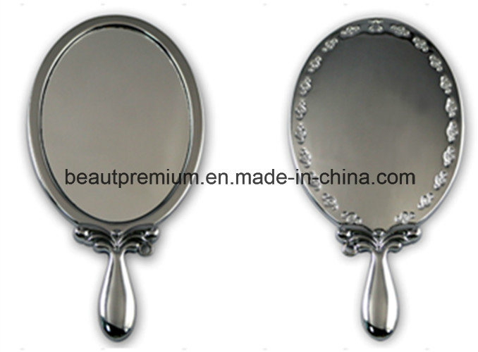 Stainless Steel Single Side Handle Make up Mirror BPS070