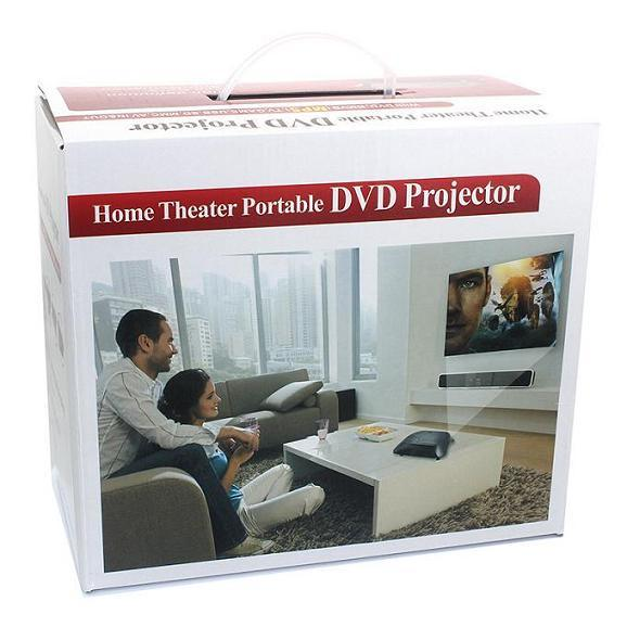Yi-368b Home Entertainment DVD Projector