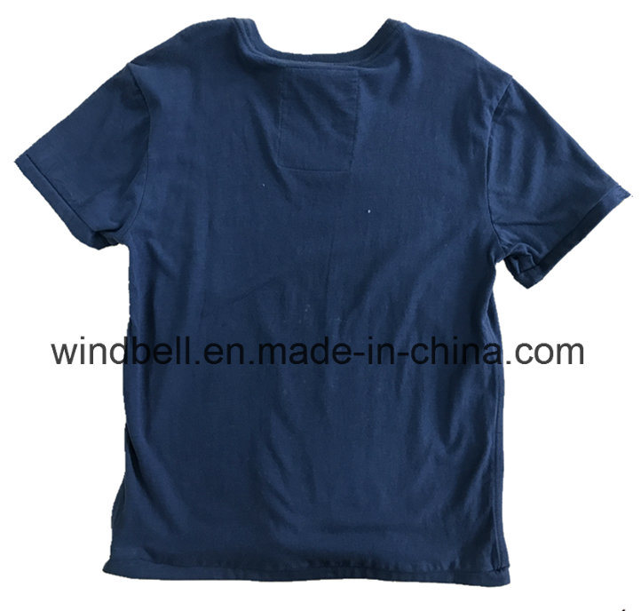Peached Cotton T-Shirt for Boy with Discharge Printing