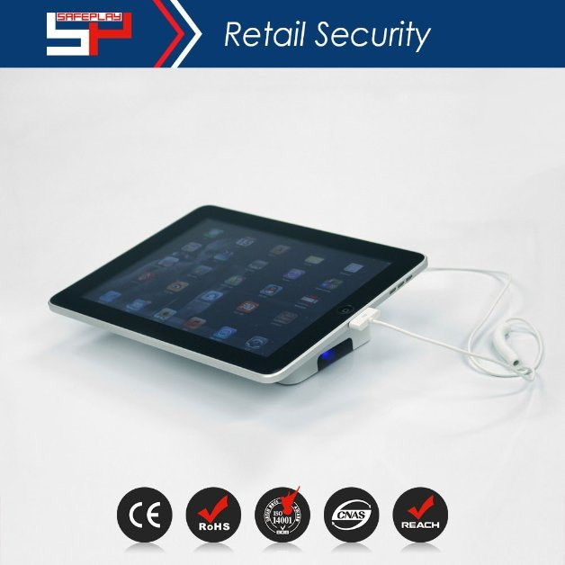 Security Anti Theft Alarm Pedestal Stand for Tablet Ipads Sp2301