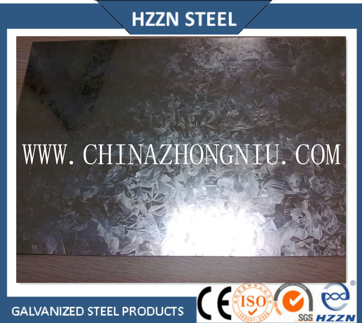 Big Spangle Hot Dipped Galvanized Steel Coil