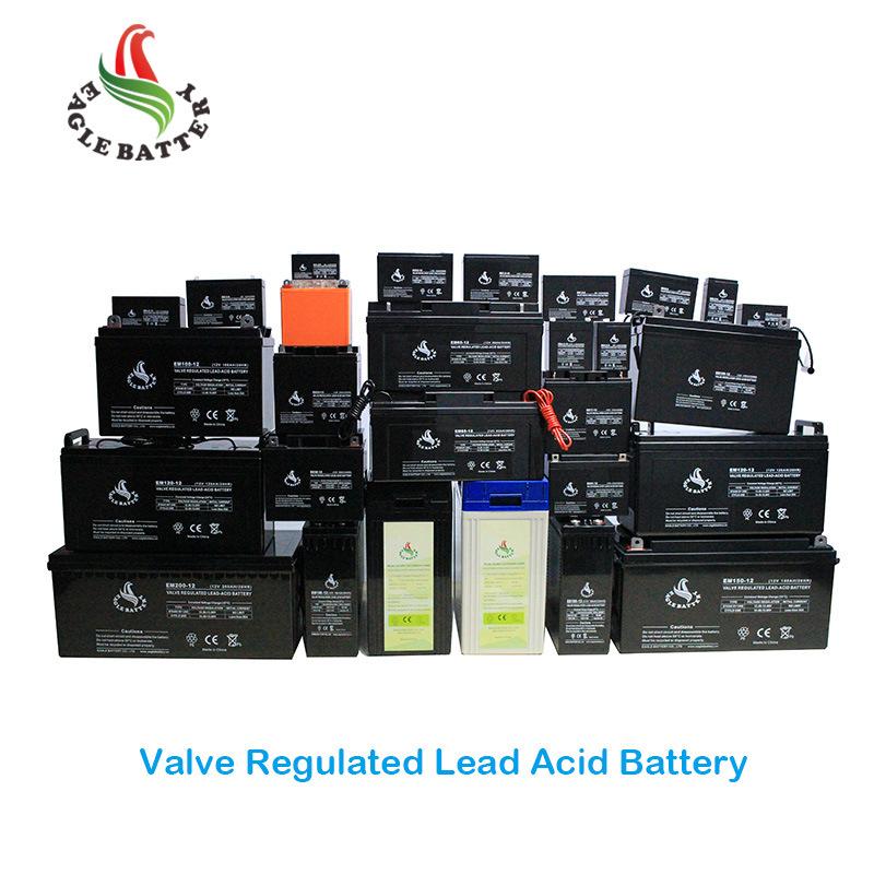 6V 7ah Storage Lead Acid Battery with AGM