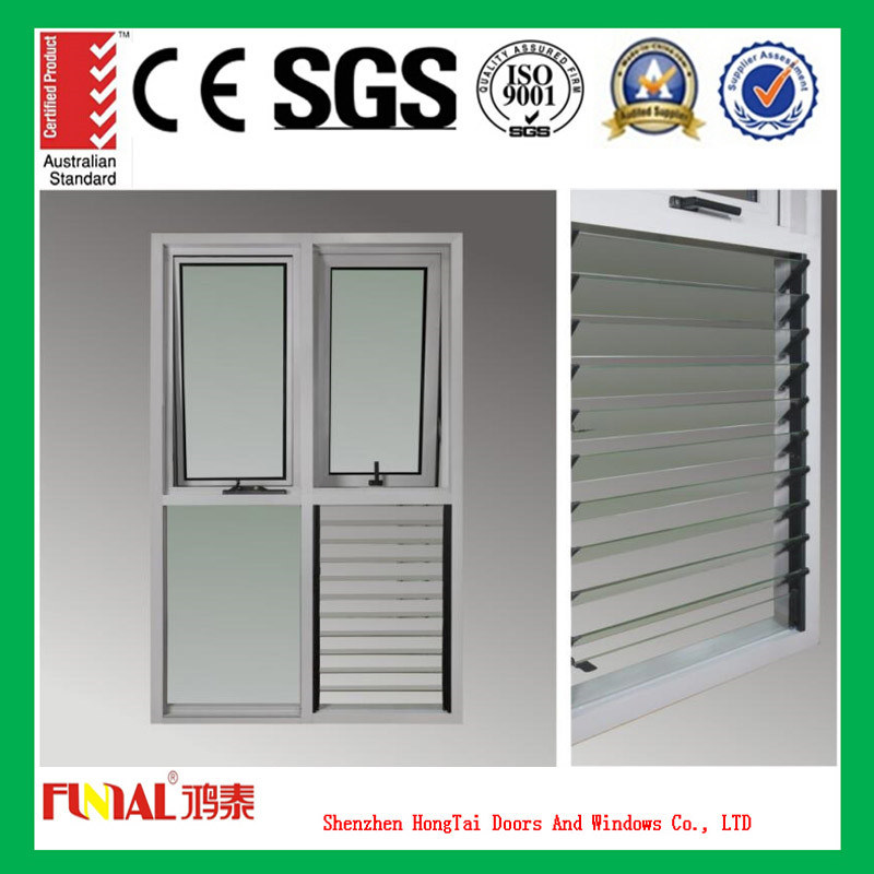Custom Designs Aluminum Commercial Window