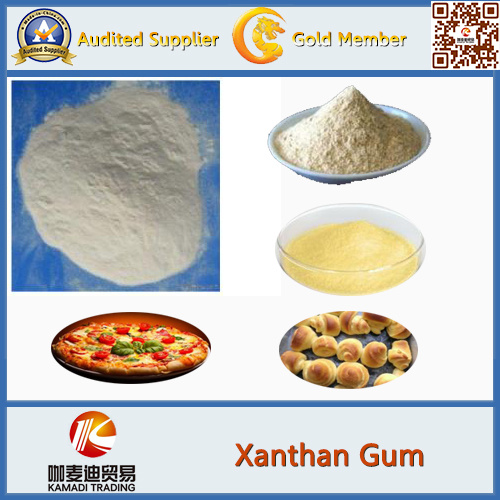 Thickener Agent Oil Drilling Xanthan Gum 80 Mesh, Food Grade