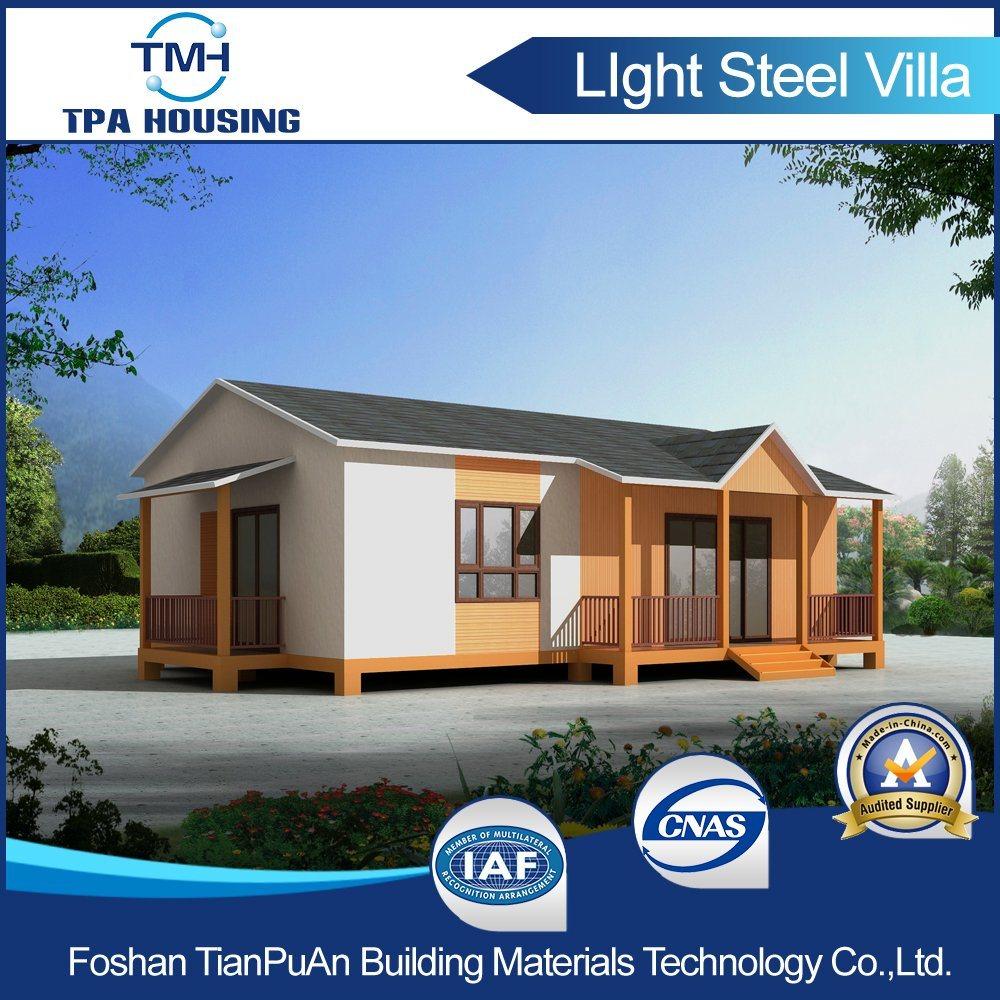 Light Steel Structure Modular Villa Home Design Prefabricated House