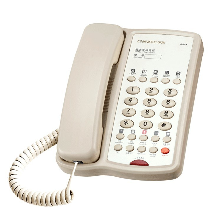 Hotel Telephone B008, Speaker Phone, Handsfree Phone, Hotel Product, Message Telephone