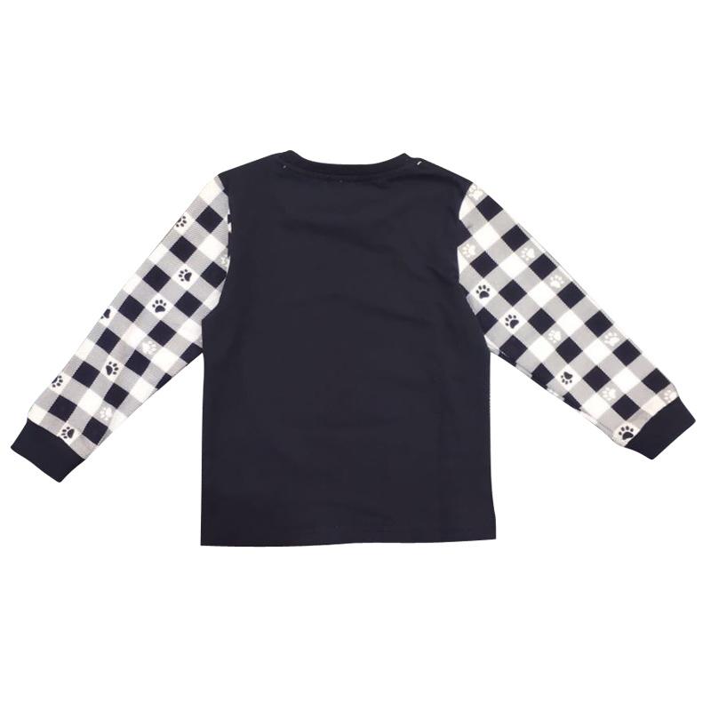 Boy Long Sleev T-Shirt in Children Clothing