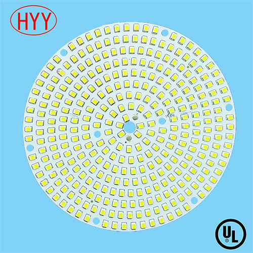 Direct LED Al PCB Board with Routing and 100% No X-out with SGS Approved (HYY-119)