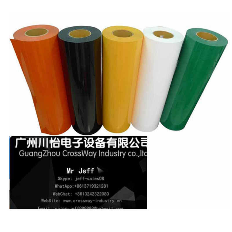 PU Heat Transfer Vinyl for T-Shirt fabric Logo Image Printing