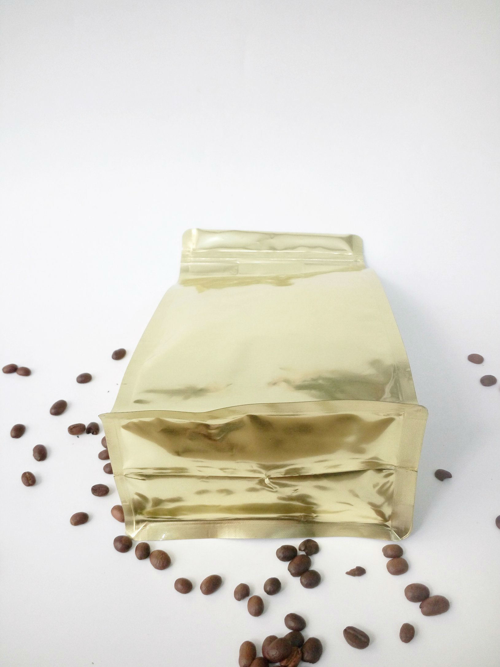 Hot Sale Coffee Zipper Bag with Degassing Valve