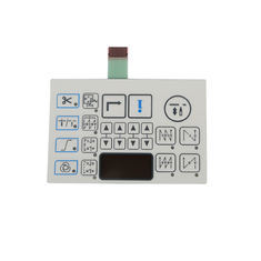 Push Button Pet PC Flexible Metal Dome Membrane Switch Keypad with 3m Adhesive Thin Film Switch
