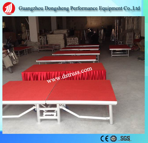 Portable Stage Aluminium Alloy Folding Stage