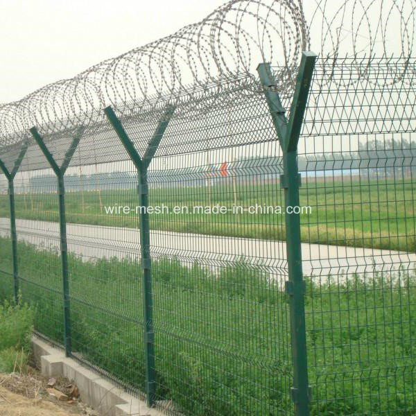 PVC Coated Security Protected Wire Mesh Fence/Garden Fence
