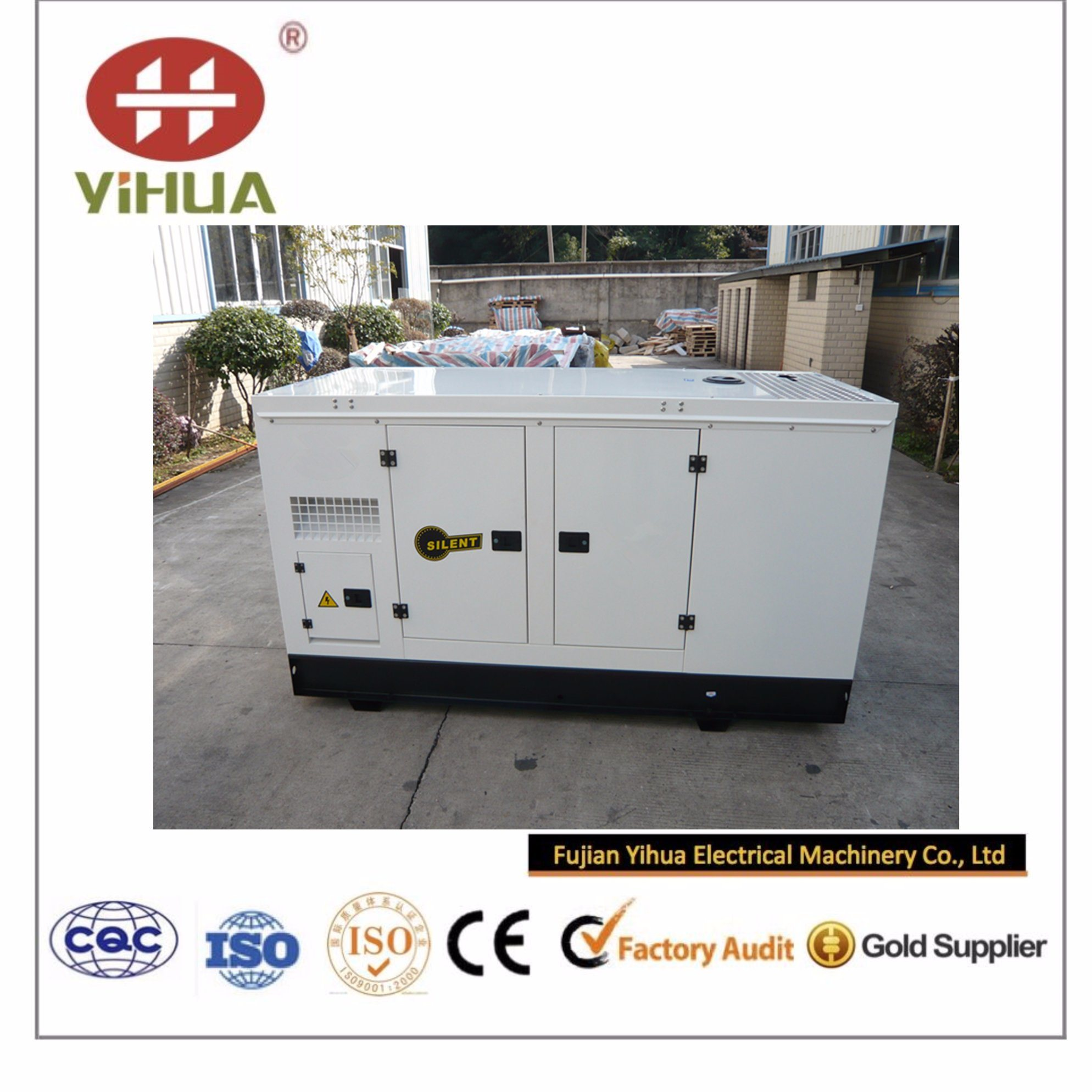 20kVA~250kVA Super Silent Diesel Power Generator with CPT Cummins Engine