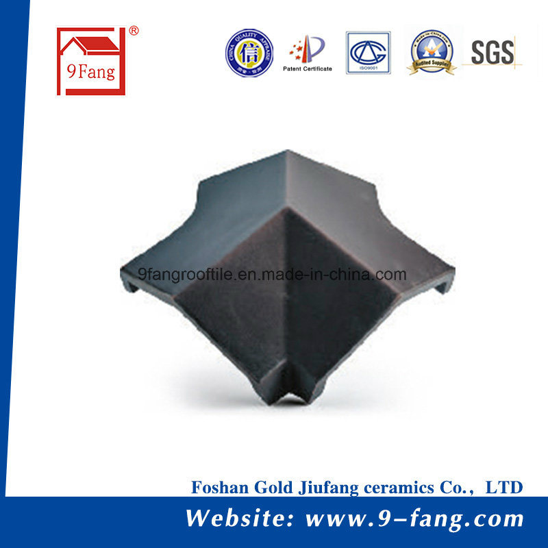 Classic Roofing Flat Type Clay Roof Tile Made in China 265*390mm Top Sale