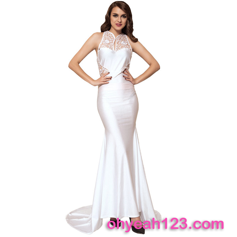 Best Selling Sleeveless Evening Dress for Fat Women