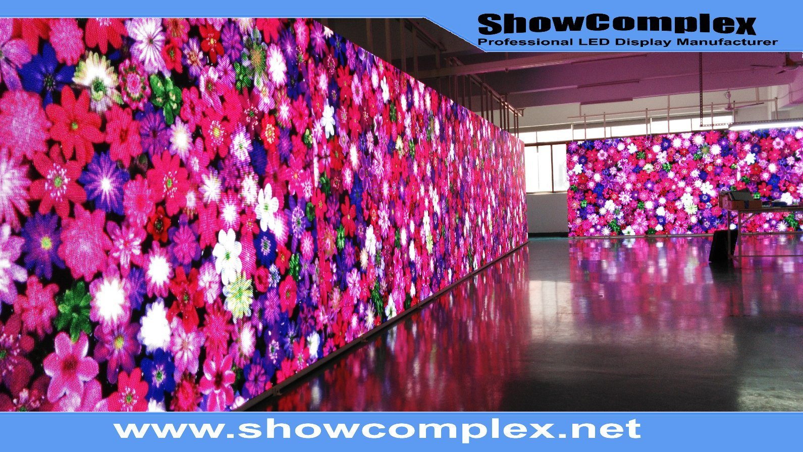 High Brightness of Full Color Outdoor LED Sign for Wedding (P6)