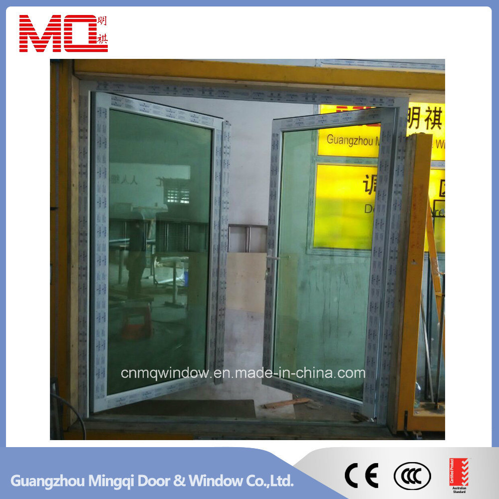 Single Panel PVC Swing Glass Door Mqd-05