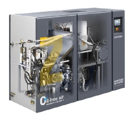 Atlas Copco Oil Free Rotary Air Compressor (ZT55VSD)