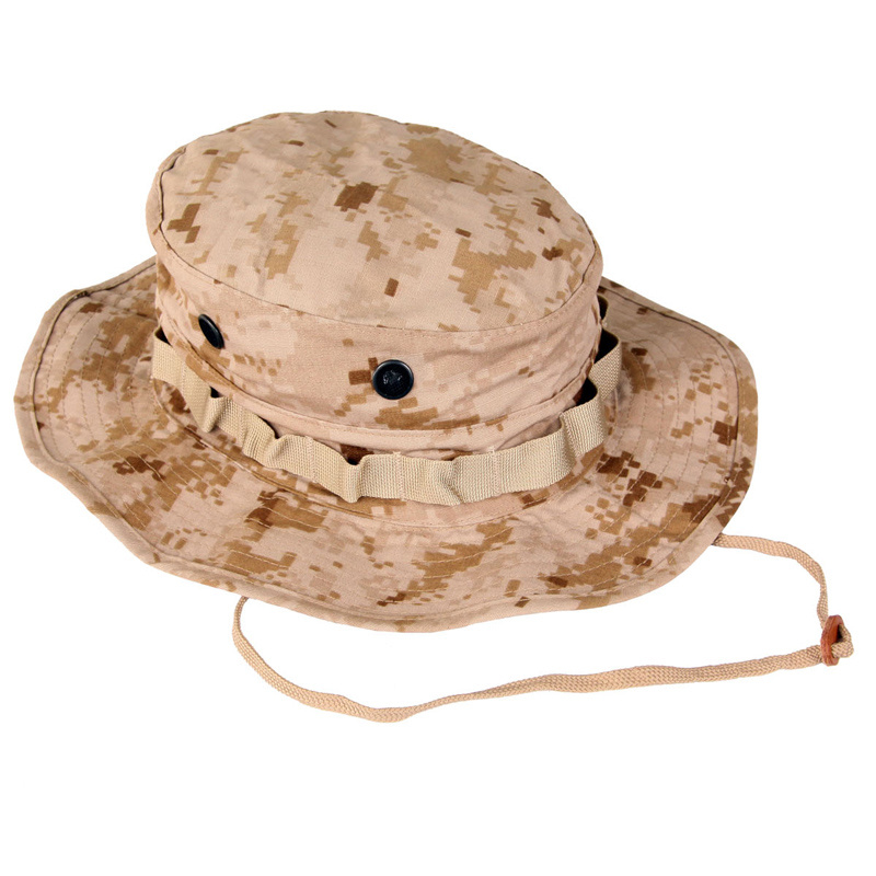 Military Cotton & Polyester Ripstop Six Colors Desert Camouflage Bonnie Hat