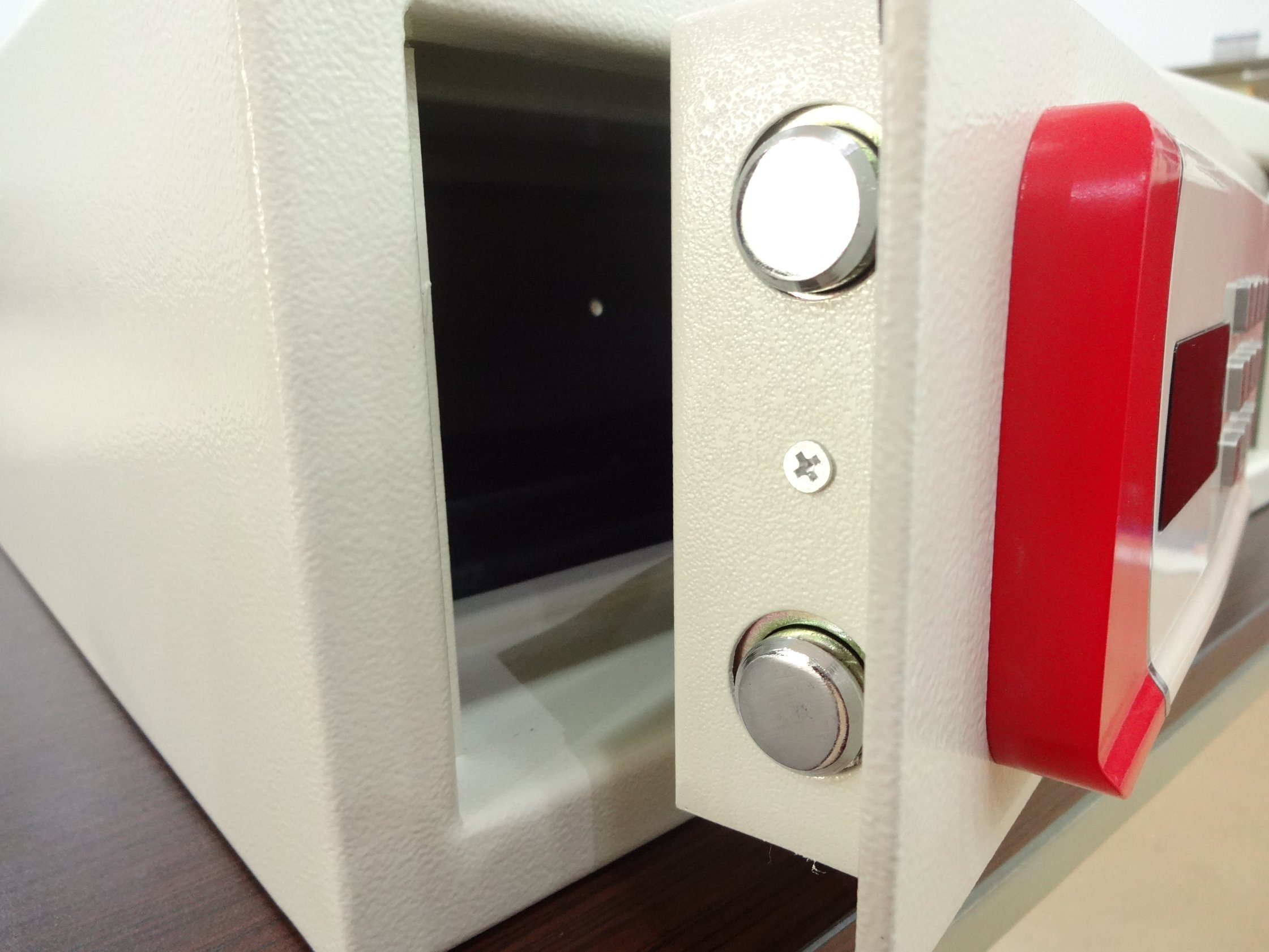 Security Home Safe Box with Digital Lock-New I White