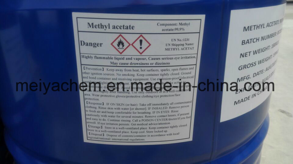 China Supply High Quality Solvents Methyl Acetate/Mtac for Sale