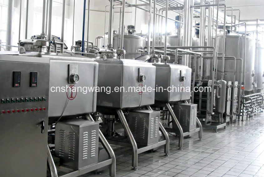 5t/H Complete Milk Production Line