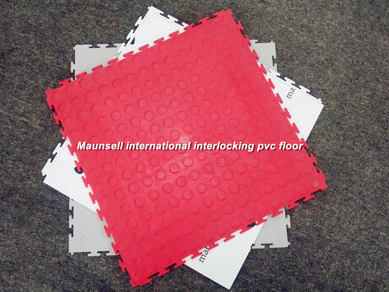Maunsell High Quality Interclocking PVC Flooring in Piece