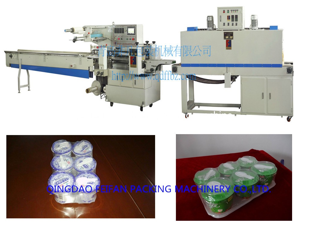 Fully Automatic PLC Control Shrink Wrapping Machine with Ce